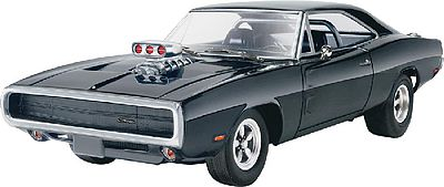 Revell-Monogram Fast & Furious 1970 Dodge Charger Plastic Model Car Kit 1/25 Scale #854319