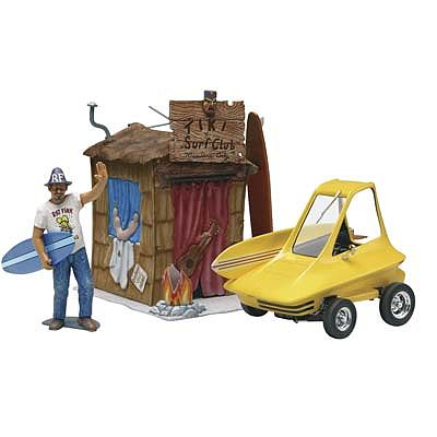 Revell-Monogram Surfite with Figure -- Plastic Model Car Kit -- 1/25 Scale -- #854347