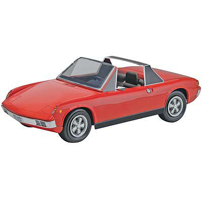 Revell-Monogram '72 Porsche 914-6 2n1 -- Plastic Model Car Kit -- 1/25 Scale -- #854378