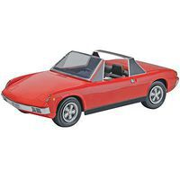 Revell-Monogram '72 Porsche 914-6 2n1 Plastic Model Car Kit 1/25 Scale #854378
