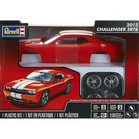 Revell-Monogram 2013 Challenger SRT8 Orange Plastic Model Car Kit 1/25 Scale #854390