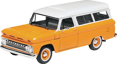 Revell-Monogram 1966 Chevy Suburban Plastic Model Car Kit 1/25 Scale #854409