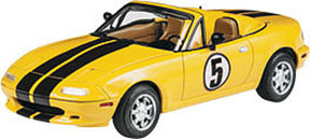 Revell-Monogram 1992 Mazda Miata Plastic Model Car Kit 1/24 Scale #854432