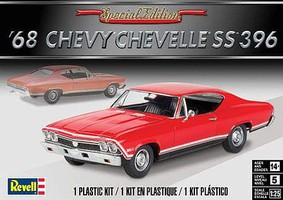 Revell-Monogram 1968 Chevelle SS 396 Plastic Model Car Kit 1/25 Scale #854445