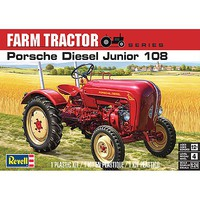Revell-Monogram Porsche Diesel Junior 108 Plastic Model Tractor Kit 1/24 Scale #854485