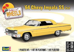 Revell-Monogram 1964 Chevy Impala SS 2n1 Plastic Model Car Kit 1/24 Scale #854487