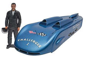 Revell-Monogram Challenger 1 with Mickey Thompson Figure Plastic Model Car Kit 1/25 Scale #854918