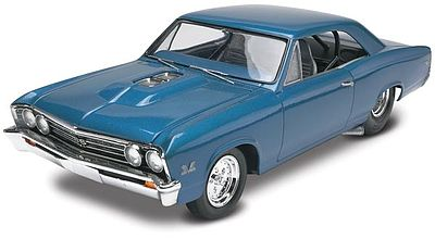 Revell-Monogram 1967 Chevelle Pro Street -- Plastic Model Car Kit -- 1/25 Scale -- #854923
