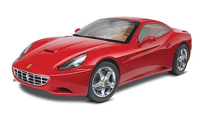 Revell-Monogram Ferrari Cali Closed Top -- Plastic Model Car Kit -- 1/24 Scale -- #854925