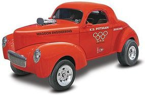Revell-Monogram Willys Drag Coupe Plastic Model Car Kit 1/25 Scale #854990