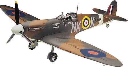Revell-Monogram Spitfire Mk-II -- Plastic Model Airplane Kit -- 1/48 Scale -- #855239
