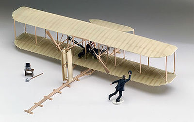 Revell-Monogram Wright Flyer 1st Powered Flight -- Plastic Model Airplane Kit -- 1/39 Scale -- #855243