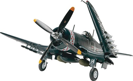 Revell-Monogram F4U4 Corsair Fighter -- Plastic Model Airplane Kit -- 1/48 Scale -- #855248
