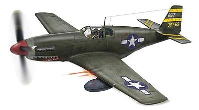 Revell-Monogram P-51 B/C Mustang -- Plastic Model Airplane Kit -- 1/48 Scale -- #855256