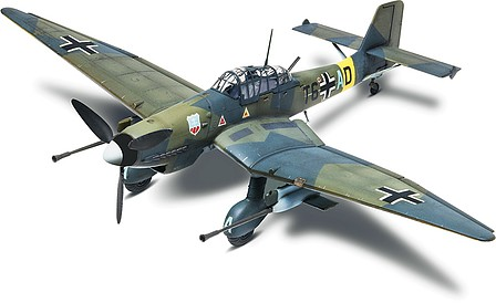 Revell-Monogram Stuka Dive Bomber Ju87G-1 -- Plastic Model Airplane Kit -- 1/48 Scale -- #855270