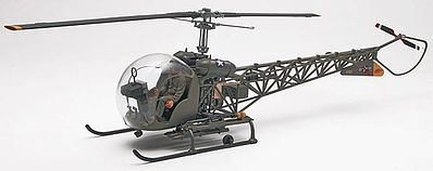 Revell-Monogram Bell H-13H 2'n1 -- Plastic Model Helicopter Kit -- 1/35 Scale -- #855313