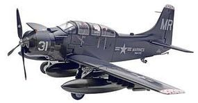Revell-Monogram Skyraider AD-5 (A-1E) Plastic Model Airplane Kit 1/48 Scale #855327