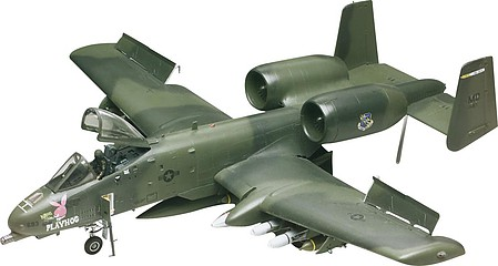Revell-Monogram A-10 Warthog -- Plastic Model Airplane Kit -- 1/48 Scale -- #855521