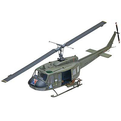 Revell-Monogram UH-1D Huey Gunship -- Plastic Model Helicopter Kit -- 1/32 Scale -- #855536