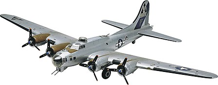 Revell-Monogram B-17G Flying Fortress -- Plastic Model Airplane Kit -- 1/48 Scale -- #855600