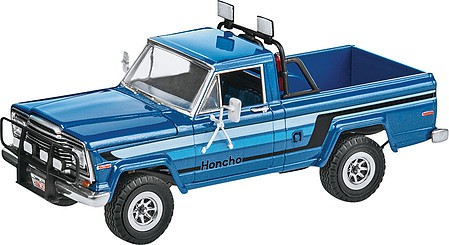 Revell-Monogram 1980 Jeep Honcho Ice Patrol Plastic Model Truck Kit 1/25 Scale #857224