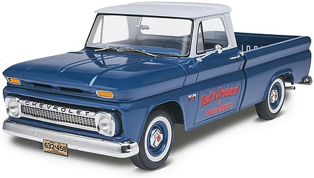 Revell-Monogram 1966 Chevy Fleetside -- Plastic Model Truck Kit -- 1/25 Scale -- #857225