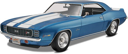 Revell-Monogram 1969 Camaro Z28 RS Plastic Model Car Kit 1/25 Scale #857457
