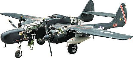 Revell-Monogram P-61 Black Widow Plastic Model Airplane Kit 1/48 Scale #857546