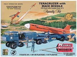 Revell-Monogram Teracruzer with Mace Missile Plastic Model Military Vehicle Kit 1/32 Scale #857812