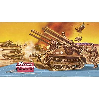 Revell-Monogram Ontos Renwal -- Plastic Model Military Vehicle Kit -- 1/32 Scale -- #857823