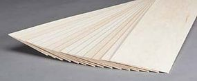 Revell-Monogram Basswood Sheet 1/16x4x24 (15)