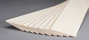 Revell-Monogram Basswood Sheet 3/16x4x24 (10)