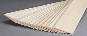 Revell-Monogram Basswood Sheet 1/8x3x24 (15)