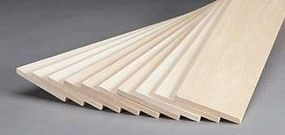 Revell-Monogram Basswood Sheet 1/4x3x24 (10)