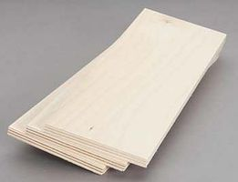 Revell-Monogram Birch Plywood 9mm 3/8x4x12 (3)
