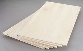 Revell-Monogram Birch Plywood 6mm 1/4x12x24 (6)