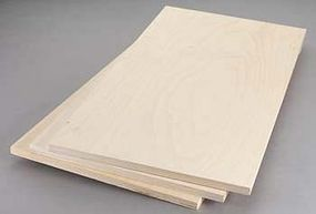 Revell-Monogram Birch Plywood 12mm 1/2x12x24 (3)