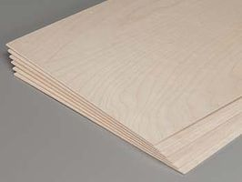 Revell-Monogram Model Birch Plywood 3/32x12x24 (6)