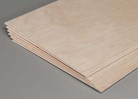 Revell-Monogram Model Plywood 1/8x12x48 (6)