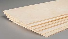 Revell-Monogram Model Plywood 1/4x12x48 (6)