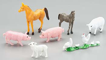 Revell-Monogram 77-1109 School Project Accessory Farm Animals