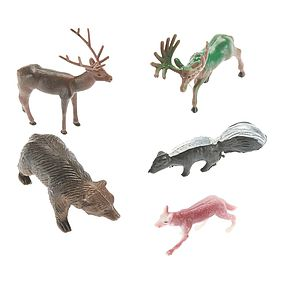 Revell-Monogram 77-1113 School Project Accessory Forest Animals
