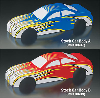 Revell-Monogram EZ Body Stock Car A -- Pinewood Derby Decal and Finishing -- #y8637
