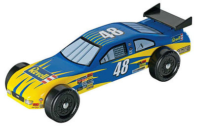 Revell-Monogram Stock Car Trophy Series Kit -- Pinewood Derby Car -- #y8643
