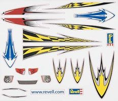 Revell-Monogram Dry Transfer Decal H Pinewood Derby Decal and Finishing #y8672