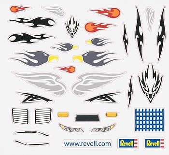 Revell-Monogram Peel & Stick Decal E -- Pinewood Derby Decal and Finishing -- #y8677