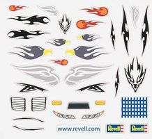Revell-Monogram Peel & Stick Decal E Pinewood Derby Decal and Finishing #y8677
