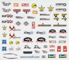 Revell-Monogram Peel & Stick Decal F Pinewood Derby Decal and Finishing #y8678
