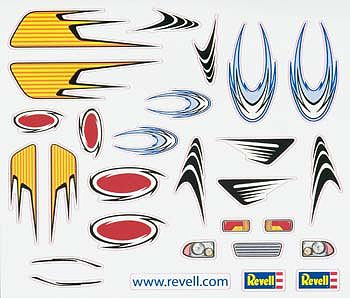 Revell-Monogram Peel & Stick Decal I -- Pinewood Derby Decal and Finishing -- #y8681