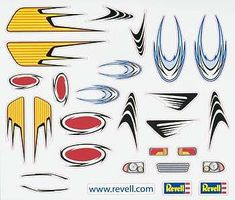 Revell-Monogram Peel & Stick Decal I Pinewood Derby Decal and Finishing #y8681